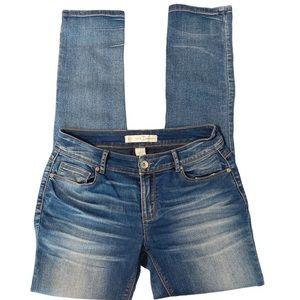 Cato skinny jeans mid rise medium wash 4